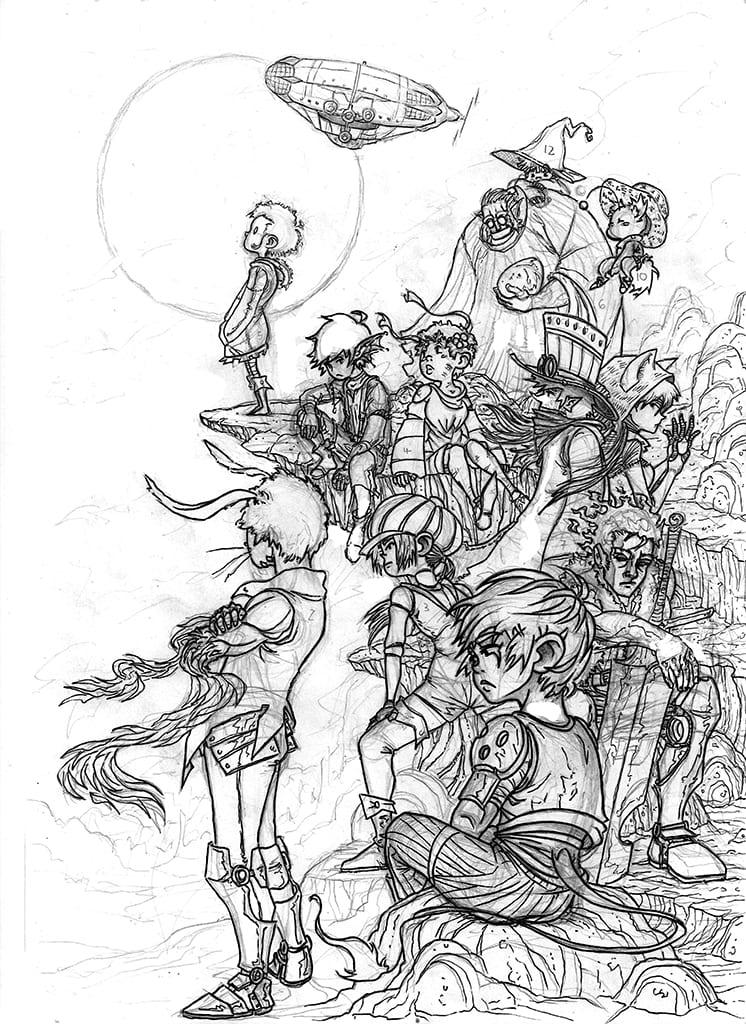 team sketch