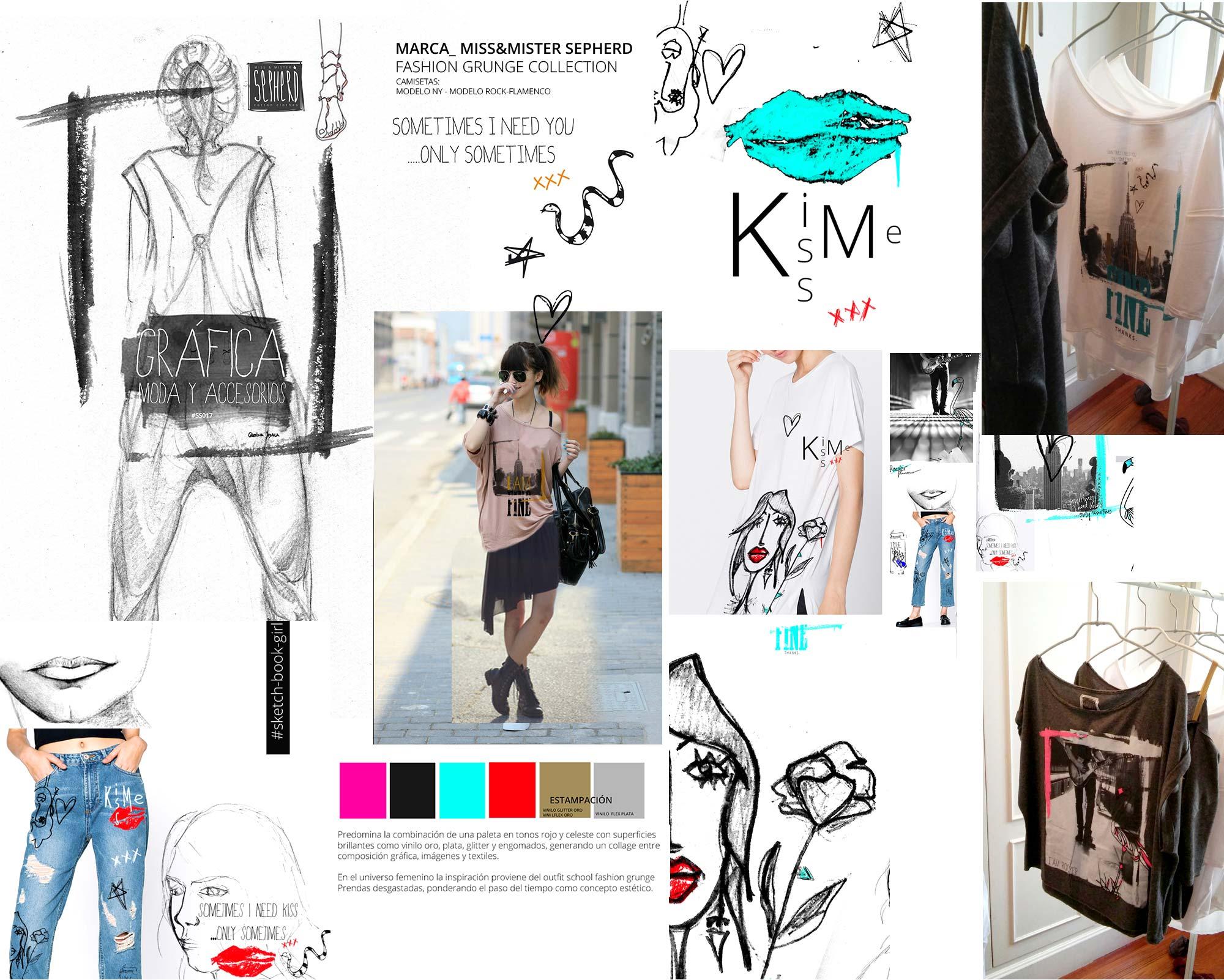 Diseño Marca y colección moda